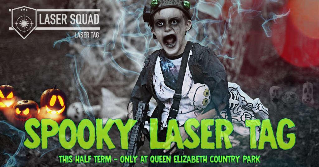 Spooky Laser Tag